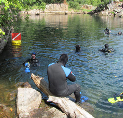 PADI Altitude Scuba Diver Certification in the Twin Cities of Minneapolis and St. Paul, MN by MidWest School of Diving in White Bear Lake, Minnesota